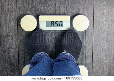 An Image of weighing - weigh, calorie