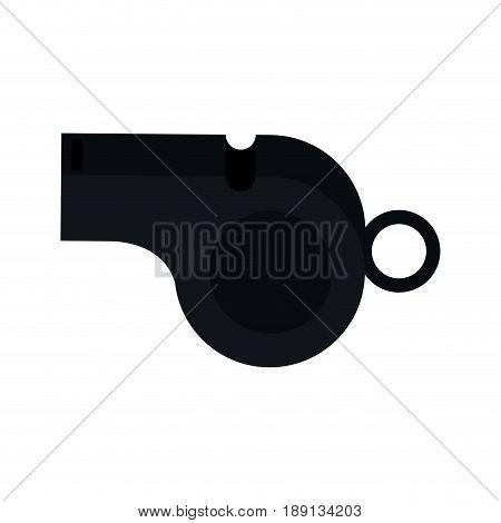 blow whistle icon image vector illustration design