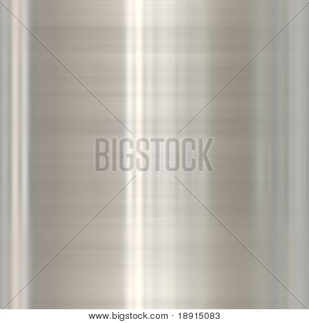 brushed silver aluminum with highlights, seamlessly tillable
