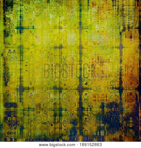 Designed grunge texture or retro background. With different color patterns: blue; yellow (beige); brown; green; purple (violet)
