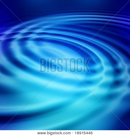 elegant abstract blue ripples with interference