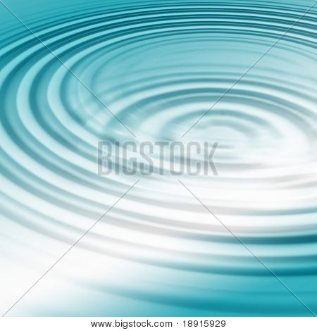 turquoise water ripples with highlight
