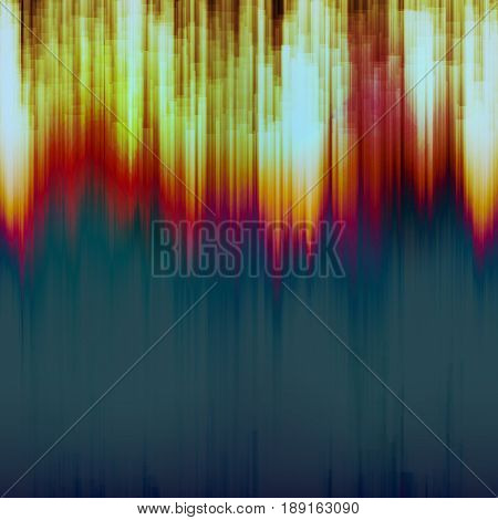 Glitch Background Vector. Chaos Aesthetics Of Signal Error. Dark Glitch
