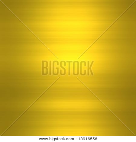 golden brushed metal background with highlights