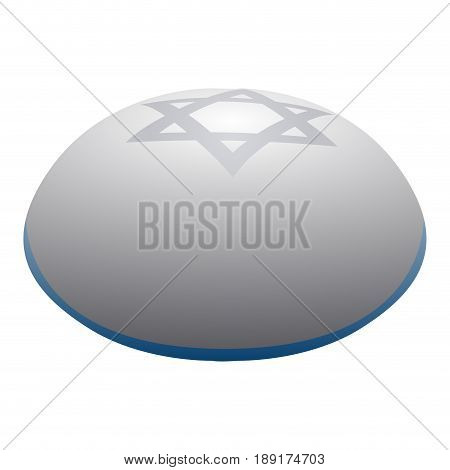 Isolated Jewish Kippah