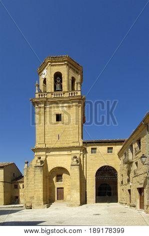La Asunción Church Sajazarra La Rioja Spain