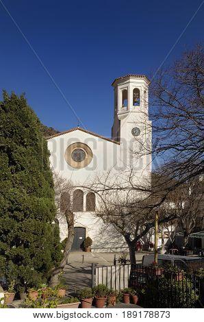 Sant Esteve church La Selva de Mar Alt Emporda Girona province Catalonia Spain