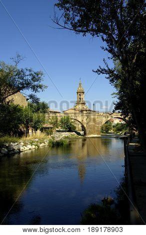 Village of Cuzcurrita de Rio Tiron La Rioja Spain