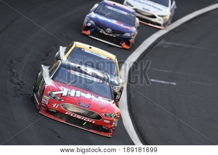 May 28, 2017 - Concord, NC, USA: Kurt Busch (41) brings his car through the turns during the Coca Cola 600 at Charlotte Motor Speedway in Concord, NC.