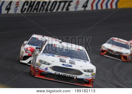 May 28, 2017 - Concord, NC, USA: Kevin Harvick (4) battles for position during the Coca Cola 600 at Charlotte Motor Speedway in Concord, NC.