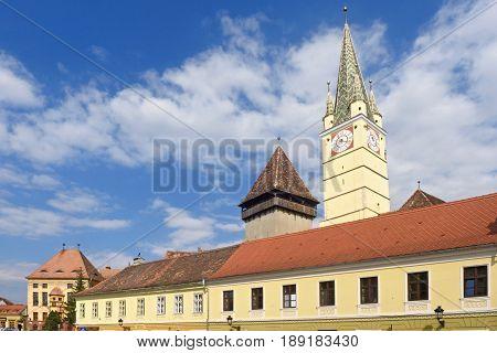 The Fortified Saxon Church of MediasTransylvania Romania