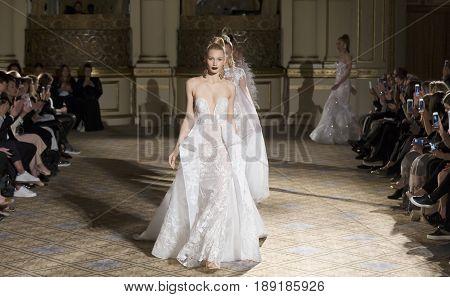 Berta - Spring 2018 Collection - New York Fashion Week Bridal