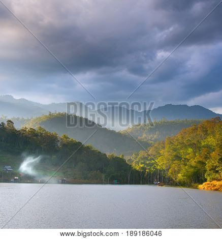 North Lake Thailand Landscape