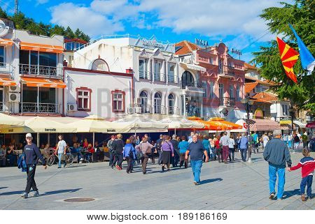 Street Life Of Ohrid, Macedonia