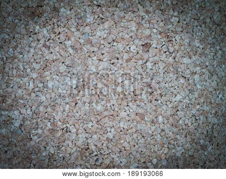 Closeup pale brown cork board texture use as background