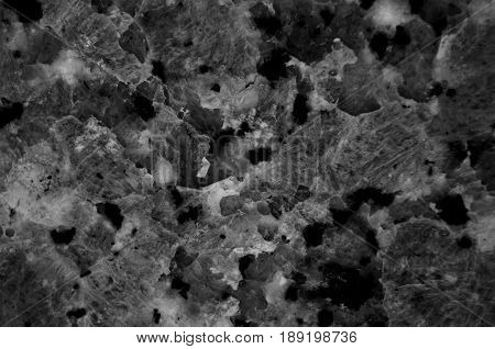 Black granite texture (Natural pattern for backdrop or background, And can also be used create granite stone effect to architectural slab, floor and wall tiles)