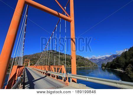 General Carrera Bridge, Bertrand Lake, Carretera Austral Chile