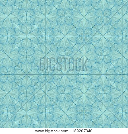 Abstract vector background consisting of interweaving lines.
