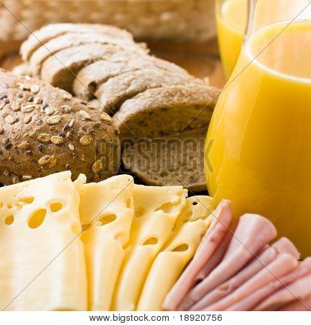 Healthy breakfast poster