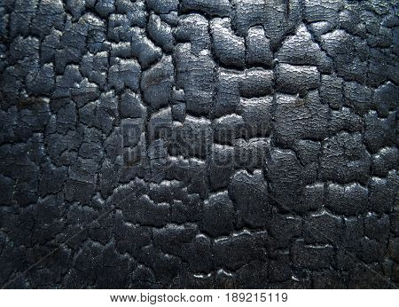 The surface of the black coal. Original texture
