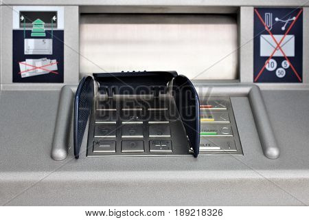 An image of a atm machine - bank automatic
