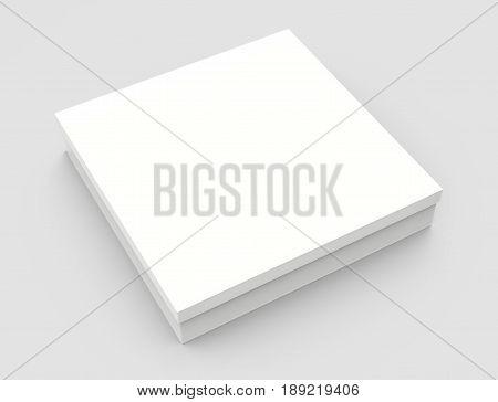 Tilt Blank Paper Box