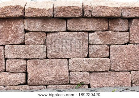 An image of a stonewall - Background, texture