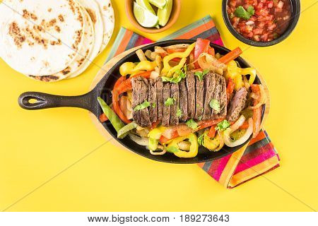 Steak Fajitas