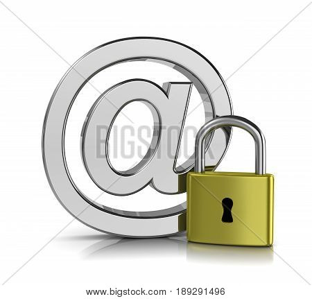 Email Security Concept