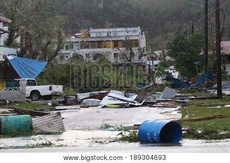 Typhoon Soudelor aftermath, Saipan Typhoon Soudelor hit and left so much devastation leaving hundreds homeless in Saipan in 2015.