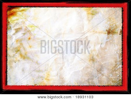 rusty background with grunge border