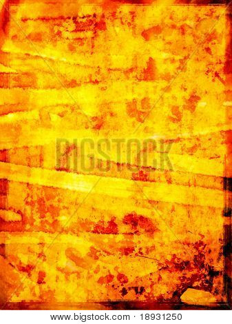 gold orange grunge background