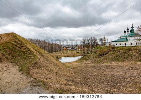Ancient Defensive Dirt Wall