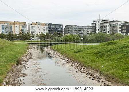 Vastra Hamnen district in Malmo south of Sweden