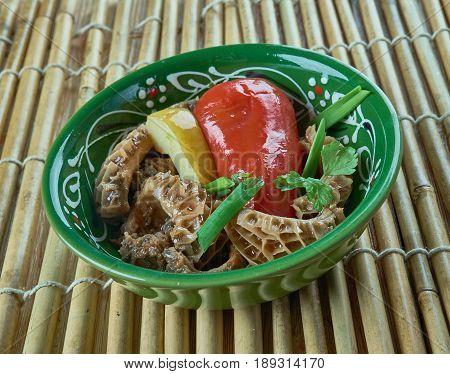 Tripe Salad