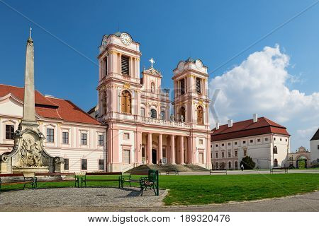 Goettweig Abbey - Benedictine monastery near Krems in Lower Austria, founded in 1083, a World Heritage Site since 2001.