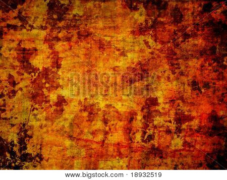 Grunge painted wooden background