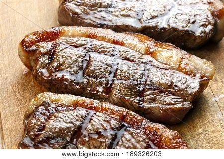 Grilled picanha, traditional Brazilian cut!
