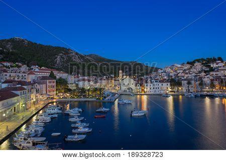 Croatia's Island Hvar and the blue hour