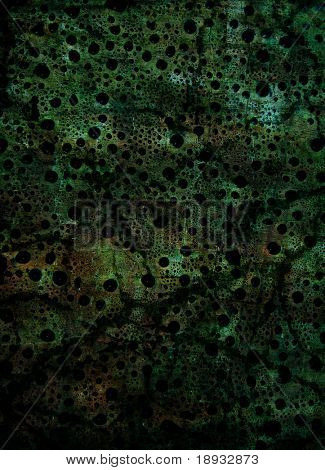 Dark grunge green background