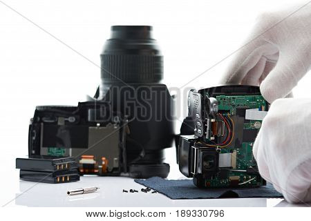 Background Of Fixing Modern Camera