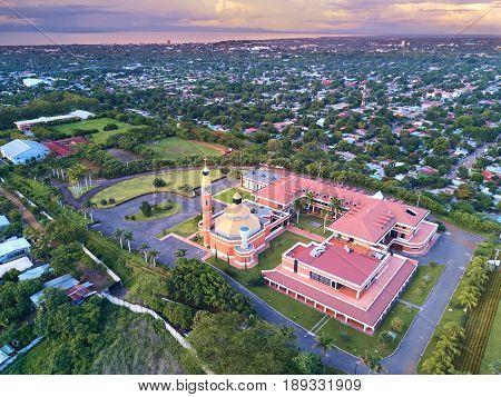 Cityscape Of Managua City