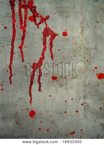 Bloody wall