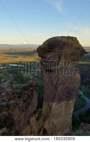Monkey Face, Smith Rock And Crooked River