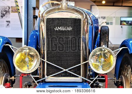 PS Speicher Museum - Amilcar CGS (Grand Sport) 1928 - Einbeck/Germany - 2017 March 26.