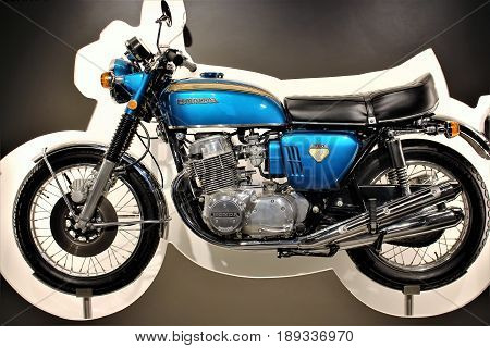 PS Speicher Museum - Honda 750 - Einbeck/Germany - 2017 March 26.
