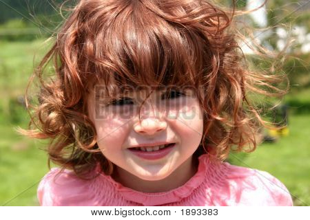 Young Girl Taken Closeup