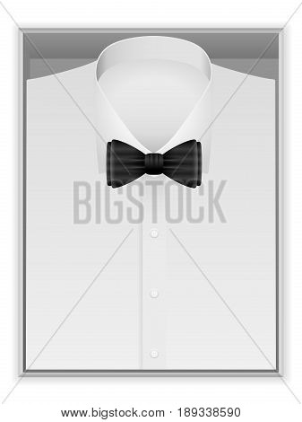 Shirt And Bow Tie In Box