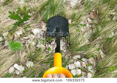 The Shovel Digs The Ground