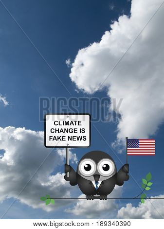 Comical American climate change denial after pulling out of the Paris Agreement